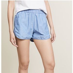 ✨🆕 Madewell Pull On Chambray Shorts
